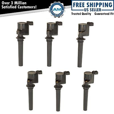 6 Piece Ignition Spark Coil Set Kit for Mazda Tribute Mercury Ford Taurus 500