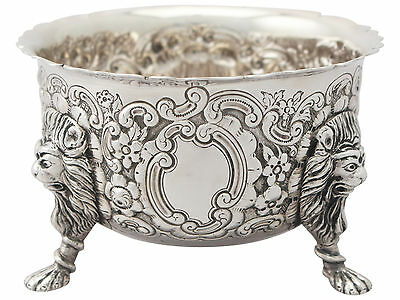 Irish Sterling Silver Bowl - Antique Edwardian