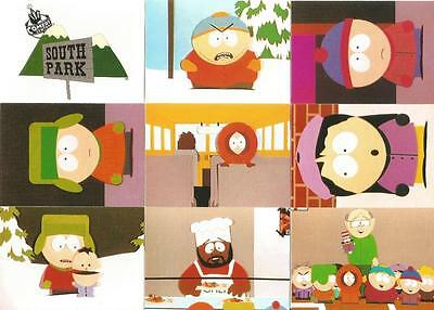 South Park Trading Cards Full 70 Card Base Set Trading Cards from Comic Images