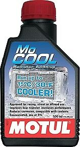 Motul 102222 MoCool Radiator Additive Coolant .5 Liter (16.9 fl. oz.)- 1pc