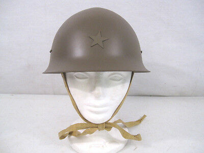WWII Imperial Japanese Army Model 30 Steel Helmet w/Leather Liner - Reproduction