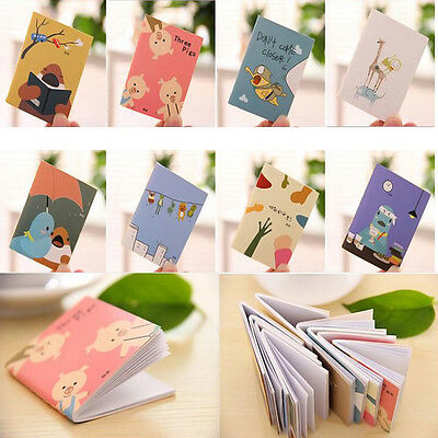 Cute Cartoon Little Notebook Handy Notepad Paper Notebook Cheap! BB@#US