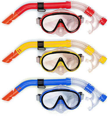 Osprey Adults Mask & Snorkel Set Ultra Clear Snorkelling Swimming Scuba Diving