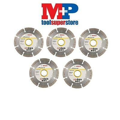 Bosch 2608615028 Angle Grinder Diamond Cutting Disc 125Mm 5 Inch **pack Of 5**