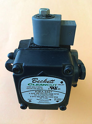 NEW! Beckett Oil Burner Pump A2EA-6527 NOT Rebuilt Junk Free Expedited Shipping!