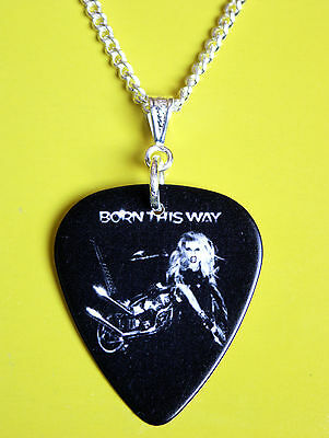 Lady Gaga Born This Way Plectrum Pick Necklace