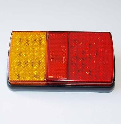 Led 4 Function Rear Combination Lamp For Trailers Boards Caravans
