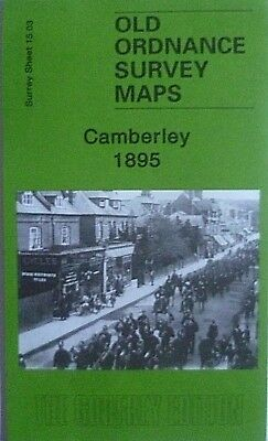 Old Ordnance Survey Maps  Surrey Camberley 1895 Sheet 15.03 Brand New