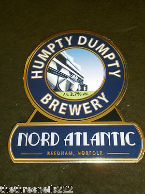 Beer Pump Clip - Humpty Dumpty Nord Atlantic