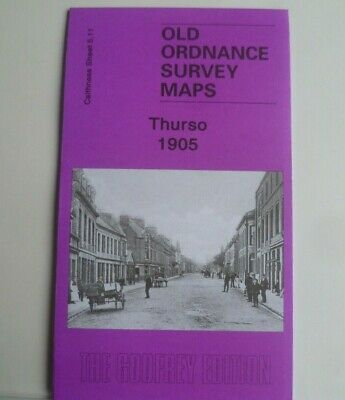 Old Ordnance Survey Map Thurso Caithness Scotland 1905 Sheet 5.11 Brand New