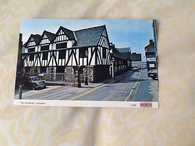 Old Postcard Tge Guildhall Leicester