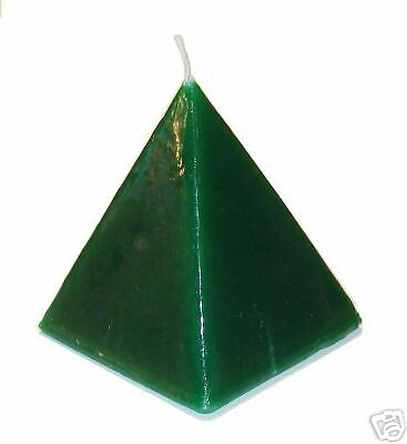 CANDLE - MONEY DRAW Pyramid Candle :: Attract Money and Luck