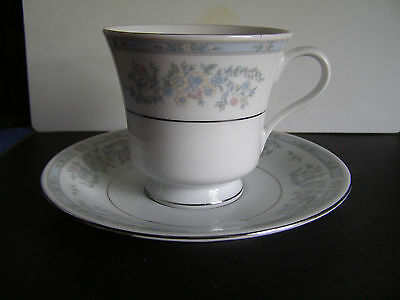 "FAIRFIELD ""ROSEPOINT"" FINE CHINA CUP AND SAUCER BY YUNG SHEN, discontinued"