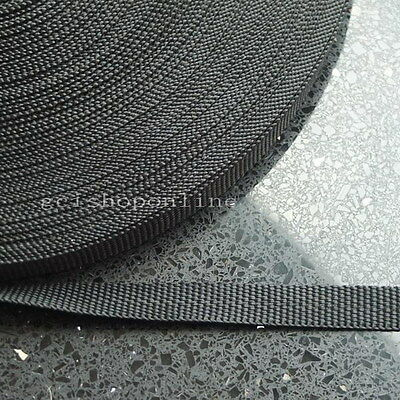 10 25 50 C Yard Polypropylene Webbing Belt Strap Buckle Strapping 12mm 15mm 19mm