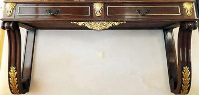 WAND TISCH KONSOLE ANRICHTE WALL CONSOLE TABLE Barock Louis seize XV XVI Empire