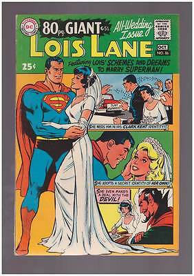 Lois Lane # 86  All Wedding  80 page issue grade 7.5 scarce hot book !!