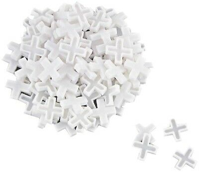 """New Mintcraft 6743553 Bag Of (200) 1/8"""" Plastic Wall Floor Tile Spacers"""