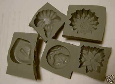 Flexible Rubber Candy Mint Cream Cheese Mold Molds