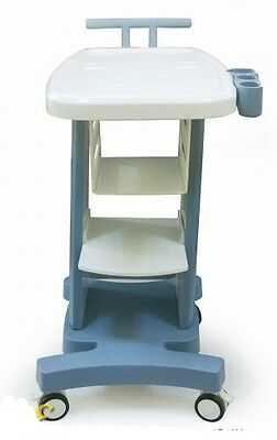 Mobile Trolley Cart for Ultrasound Imaging Scanner System. W/PRINTER DRAW