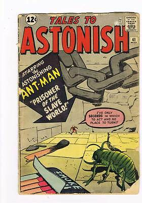 Tales to Astonish # 41  Prisoner of the Slave World grade 3.0 scarce hot book !!
