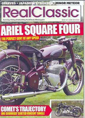 REAL CLASSIC No.122 / June 2014 (NEW) *Post included to UK/Europe/USA