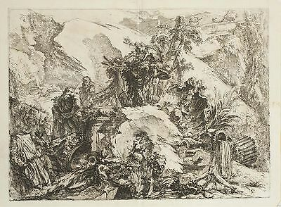 Piranesi, The Skeletons from the Grotteschi, 1750