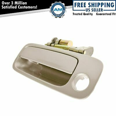 Door Handle Outside Beige Front Driver Side Left LH for 97-01 Toyota Camry