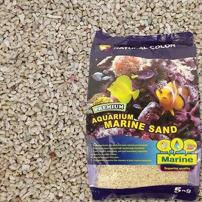 Natural Color DRY Reef Marine Substrate Aquarium Fish Tank Sand Gravel 5 - 60kg