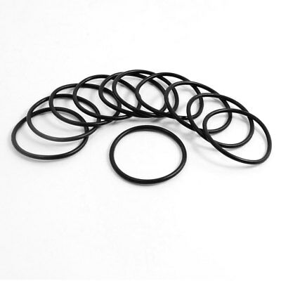 10pcs Industrial Rubber O Ring Oil Filter Sealing Gaskets 41mm X 3 1