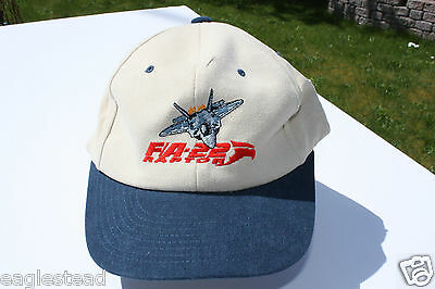 Ball Cap Hat - F/A-22 Raptor - Fighter Attack Aircraft Lockheed Air Force (H984)