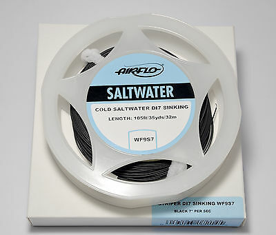 Airflo New Cold Saltwater Flylines Various Densities Rrp £39.99