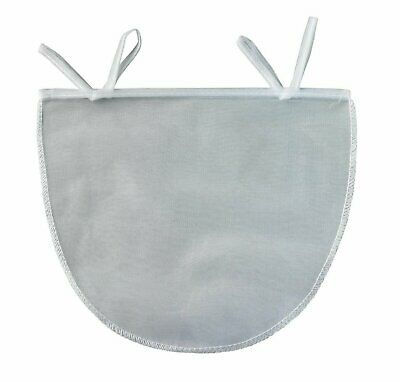 """Reusable 11"""" x 9"""" Nut Milk Bag - Almond Seed Pulp Strainer Jelly Cheese Sprouts"""