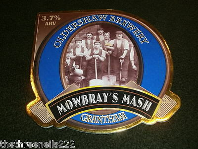 Beer Pump Clip - Oldershaw Mowbray's Mash