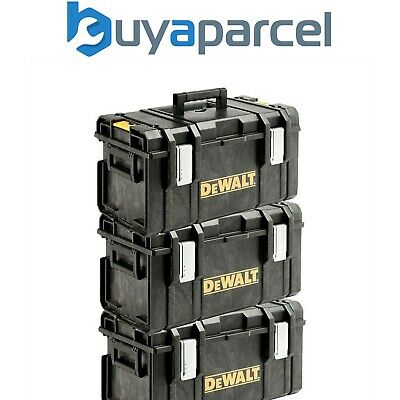 Dewalt DS300 Toughsystem Stack-able Toolbox Triple Pack