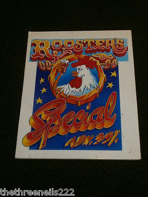 Beer Pump Clip - Roosters Special