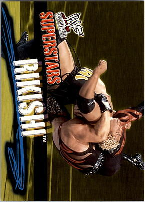 2001 Fleer WWF Wrestlemania #36 Rikishi