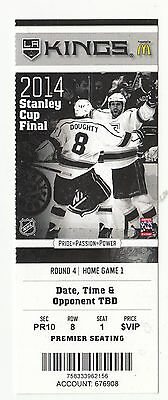 2014 La Kings Vs New York Rangers Stanley Cup Finals Game #1 Ticket Stub Mint
