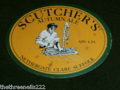 Beer Pump Clip - Nethergate Scutcher's Autumn Ale