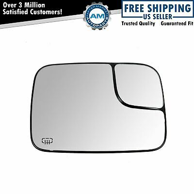 Power Heated Towing Mirror Glass Passenger RH Right for Dodge Ram 1500 2500 3500