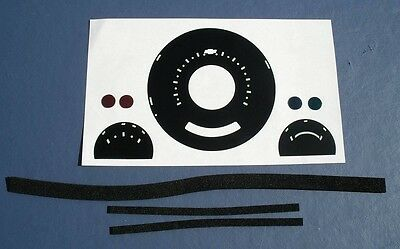 57 Chevy Instrument Cluster Refacing Kit Auto