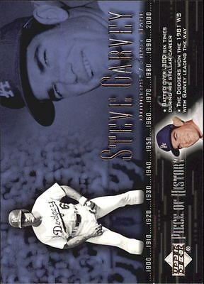 2002 (BB) UD Piece of History #64 Steve Garvey - NM-MT