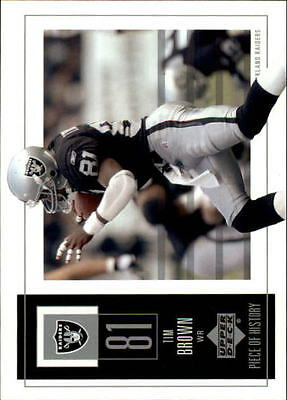 2002 UD Piece of History #72 Tim Brown