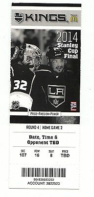 2014 La Kings Vs New York Rangers Stanley Cup Finals Game #2 Ticket Stub Mint