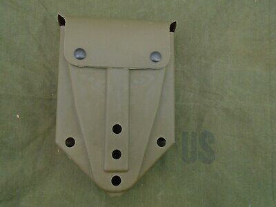 Genuine Us Military Surplus  E-Tool Folding Shovel Rubber Cover Pouch New Cond.