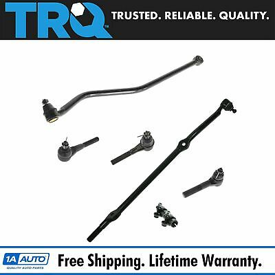 Front Tie Rods Drag Link & Track Bar Kit Set for 93-98 Jeep Grand Cherokee 4.0L