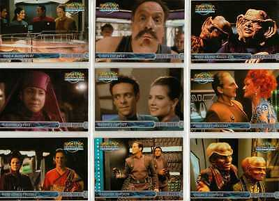 Star Trek DS9 Memories from the Future Full 100 Card Base Set from SkyBox