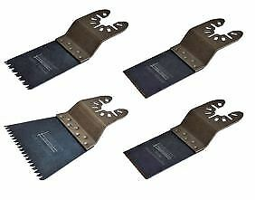 SMART H4MAK 4Pc. Multitool Blade Set for Wood