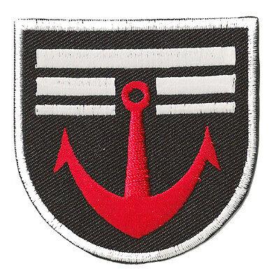 Ecusson thermocollant écusson brodé patche Marine militaire Navy patch