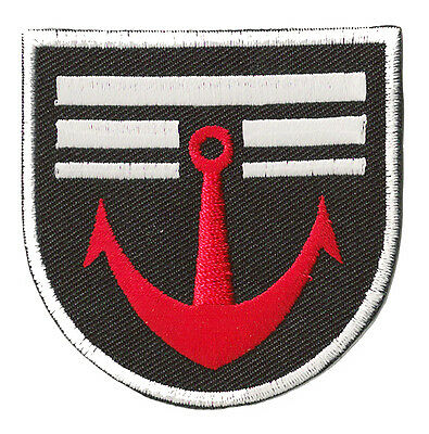 Ecusson thermocollant brodé patche Marine militaire Navy patch armée
