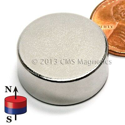 50X Magnet 5mm x 4mm Hole 2.5mm N42UH High Temperature Diametrically Magnetized